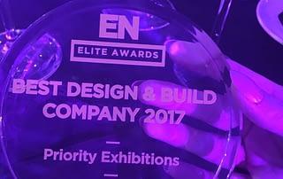 Priority Exhibitions EN Elite Awards