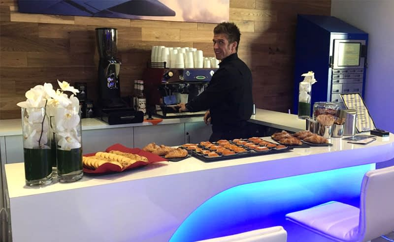 Barista organised by Priority